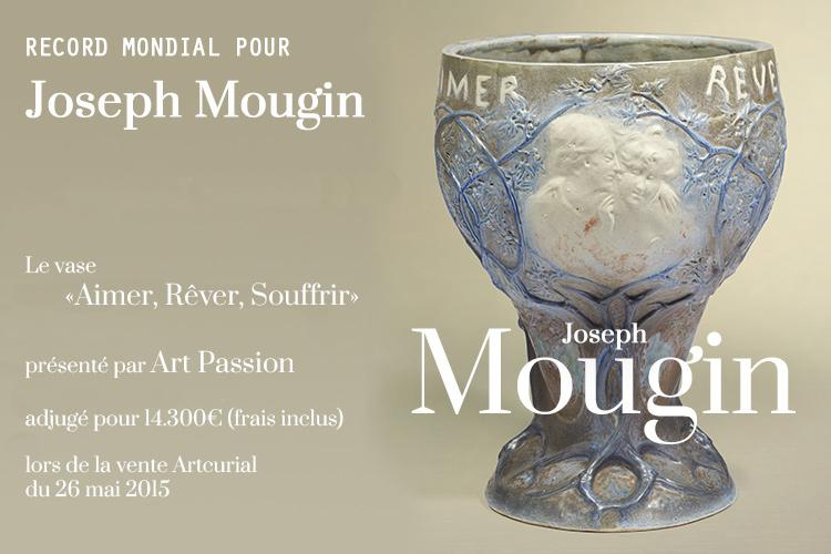 Record de vente pour un vase Joseph Mougin - Artcurial Paris
