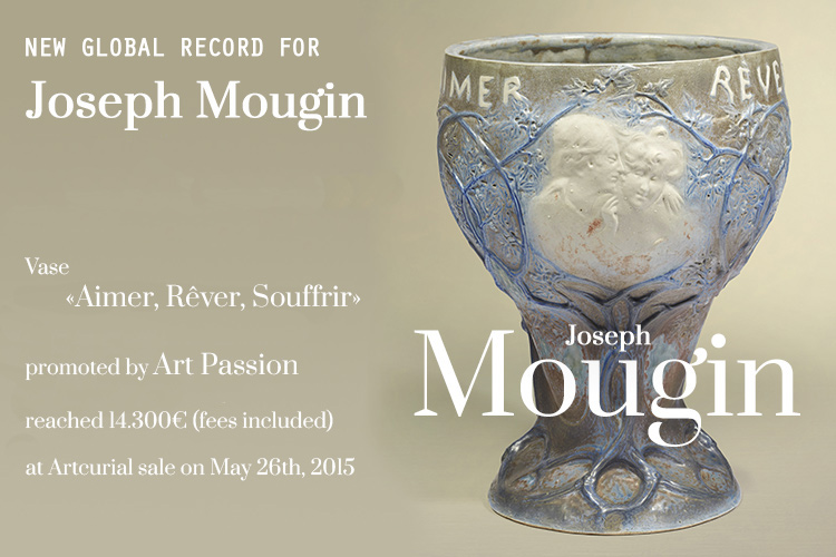 World record for Joseph Mougin's sales - Artcurial Paris
