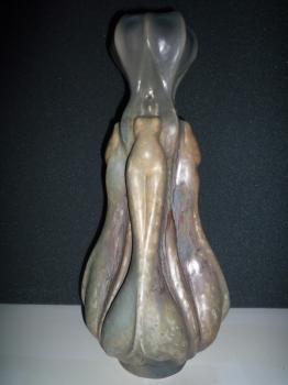 Vase femme &eacute;close petit mod&egrave;le<br/>H: 40cm - Pi&egrave;ce exceptionnelle, valeur 15000&euro;