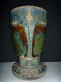 Vase aux &eacute;pis, Ecole de Nancy<br/>H: 40cm, valeur 15000&euro;