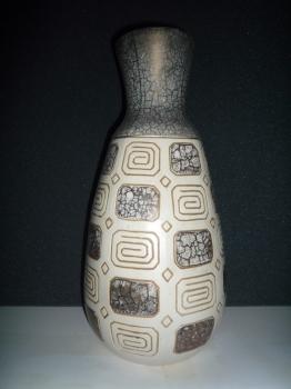 Vase &eacute;maill&eacute; &egrave; l'argent (raret&eacute; de l'&eacute;mail)<br/>Valeur 5000&euro;
