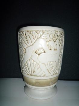 Scène de chasse décor antique - Valeur : 3500€