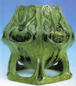 Vasque, modèle de J.Mougin<br/>H: 33cm