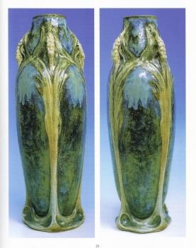 Grand Vase Epi - Mougin 58 - Grès blanc émaillé<br/>Valeur : 10000€